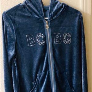 BCBG blue sweat suit